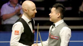 Anthony McGill and Ding Junhui