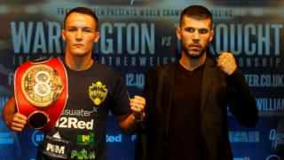 Josh Warrington and Sofiane Takoucht