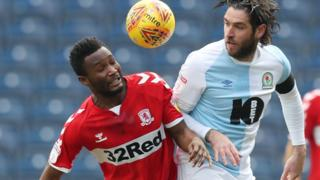 Blackburn v Middlesbrough