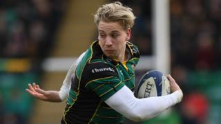 Northampton Saints' Harry Mallinder