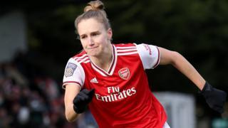 Vivianne Miedema of Arsenal