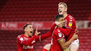 Middlesbrough v Charlton
