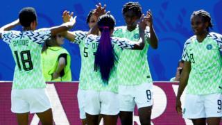 Nigeria celebrate