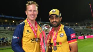 Simon Harmer and Ravi Bopara