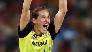 Australia's Megan Schutt