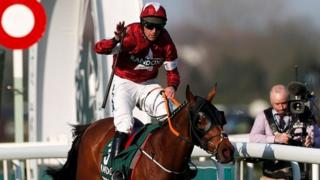 Tiger Roll and Davy Russell win