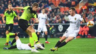Valencia v Celtic