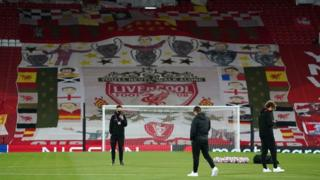 A view of the Kop at Anfield