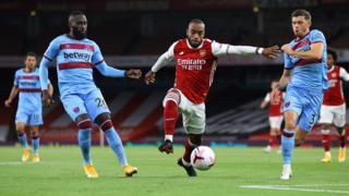 Arsenal attack