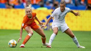 Jackie Groenen of the Netherlands