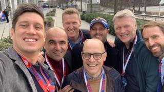 Vernon Kay, Roberto Martinez, James Worrall, Dave Brailsford, Darren Fletcher, David Moyes, Gareth Southgate