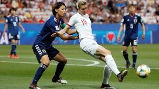 England's Ellen White