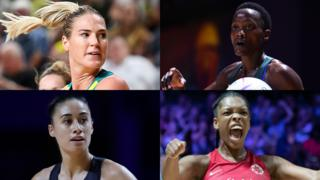 Netball World Cup semi-finalists