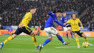 Leicester go close