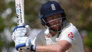 England batsman Jonny Bairstow in action in Barbados