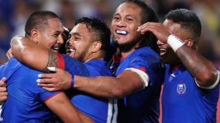 Samoa celebrate