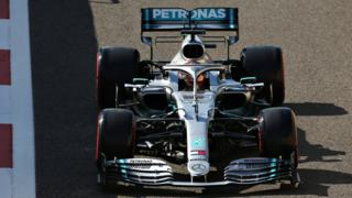 Lewis Hamilton number one on car