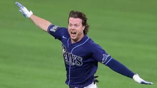 Extraordinary finale as Tampa Bay Rays beat Los Angeles Dodgers in game four