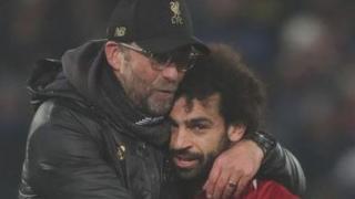 Jurgen Klopp says Mohamed Salah's goal drought isn't a problem.