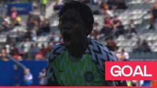 Nigeria goal