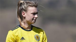 Scotland's Jenna Clark