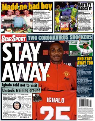 Star back page