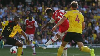 Arsenal's Pierre-Emerick Aubameyang