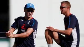 Sam Curran and Stuart Broad