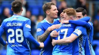 St Johnstone lead at home to Livingston