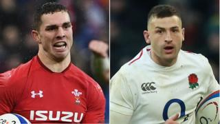 George North and Jonny May