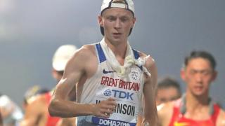 Callum Wilkinson among athletes in men's 20km walk in World Athletics Championships in Doha
