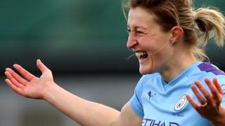 Manchester City striker Ellen White