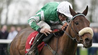 Davy Russell on Presenting Percy
