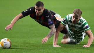 Celtic v Milan