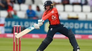 England's Danielle Wyatt