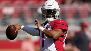 Kyler Murray of the 49ers