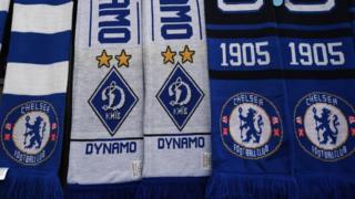 Dynamo Kiev v Chelsea