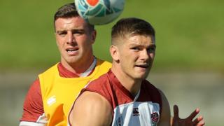 George Ford and Owen Farrell