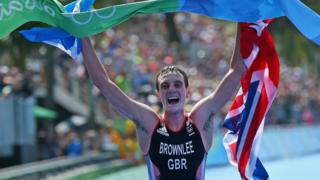 Alistair Brownlee wins 2016 Olympic old