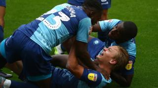 Wycombe Wanderers celebrate