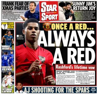 Friday's back pages: Star Sport: 'Once a red, always a red'