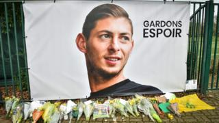 Emiliano Sala tribute in Nantes