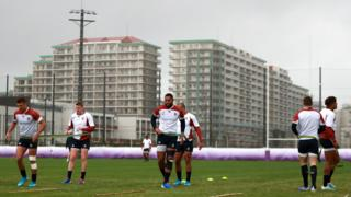 England training session on Tuesday