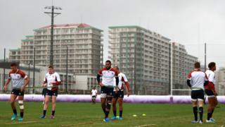 England training session on Tuesday