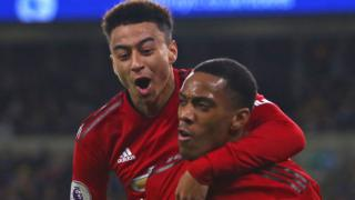 Jesse Lingard and Anthony Martial