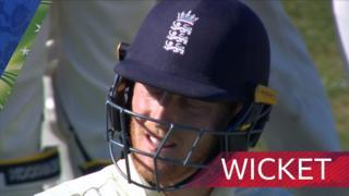 Ben Stokes wicket