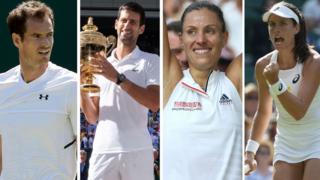 Murray, Djokovic, Kerber, Konta