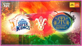 Chennai Super Kings v Rajasthan Royals