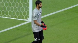 Al-Shahaniya goalkeeper