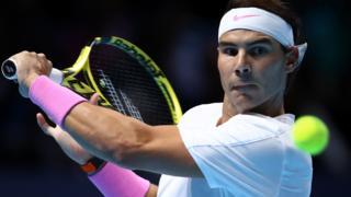 Rafael Nadal meets Stefanos Tsitsipas in ATP Finals